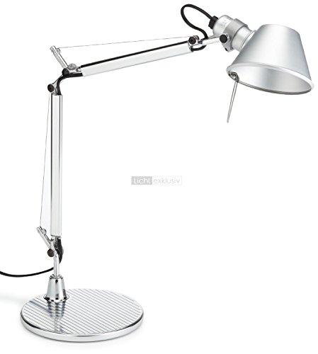 Artemide-Tolomeo-Micro-Tischlampe-mit-Fuss-Lnge-45-Hhe-37-max-73-cm-Aluminium