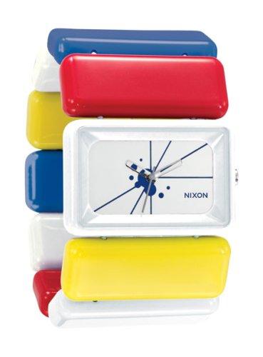 NIXON (ニクソン) 腕時計 THE VEGA WHITE/RED/YELLOW/BLUE NA726465-00 レディース [正規輸入品]