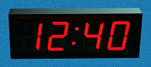 Large Digital LED Wall Clock
