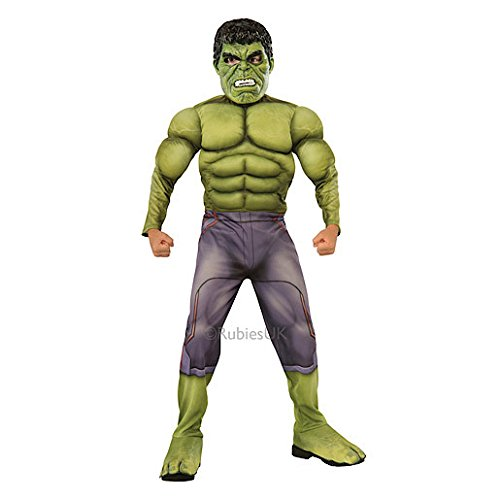Marvel Avengers Age Of Ultron Deluxe Hulk Costume (5-7 Years) Picture