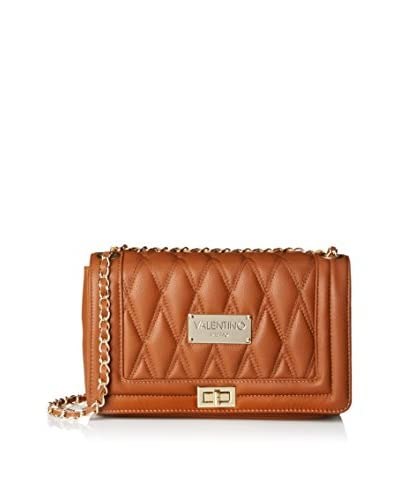 Valentino Bags by Mario Valentino Women's Alice D Quilted Shoulder Bag, Dark Whiskey