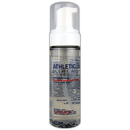 Gungfu Athletic Body Care Foaming Skin Sanitizer Prevention Health Product - Size: 5 oz.