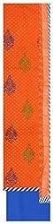 Radha Rani Women's Cotton Unstitched Dress Material (Orange)