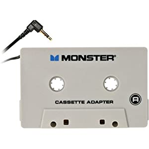 Monster AI CAS-ADPT Cable iCarPlay iPod Cassette Adapter