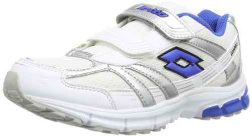 Lotto Unisex - Child ZENITH CL S Running Shoes White Weià (WHIT/SHIVER) Size: 32