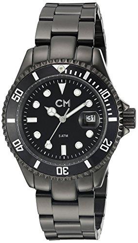 Carlo Monti - CM507-622 - Montre Homme - Quartz Analogique - Bracelet Acier Inoxydable Noir