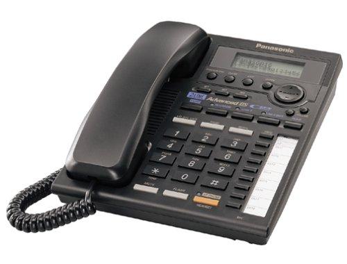 Panasonic KX-TS3282B 2-Line Expandable Corded Phone with Data Port, Black