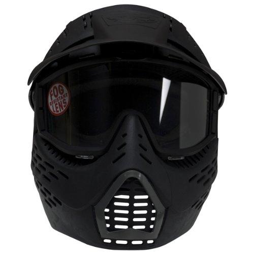 JT Elite HeadShield Single Paintball Mask (Black)