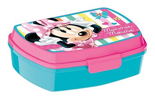 P: os 24347-Fiambrera Promo Disney Minnie Mouse, 17x 13.5x 5.5cm