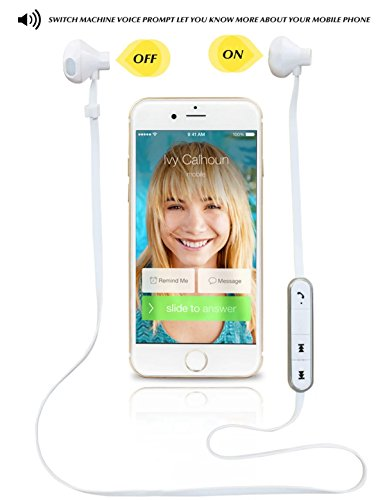 Bluetooth Earphones,Sophia Shop Stereo Wireless Bluetooth V4.0