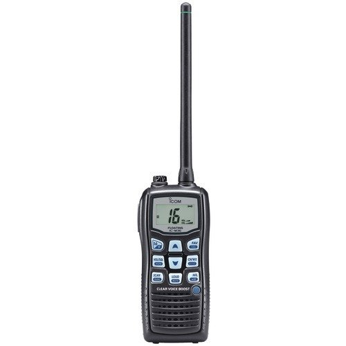 NEW ICOM M36 01 FLOATING HANDHELD 6W MARINE RADIO WITH CLEAR VOICE AUDIO - M36 01