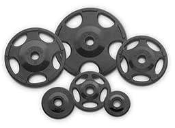 Hampton Olympic Grip Rubber Plates - 5 lb. pair
