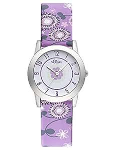 s.Oliver Mädchen-Uhren Quarz Analog SO-2236-LQ