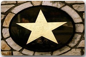 Amazon Com Western Texas Star Large Doormat Neoprene