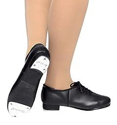 Adult Lace Up Tap Shoes,T9500BLK07.5M,Black,07.5M