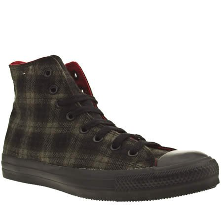 Converse Ct As Speci Hi Winter - 13 Uk - Black & Grey - Fabric