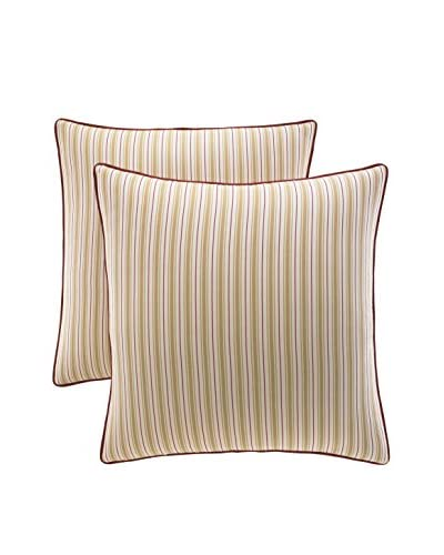 Stone Cottage Allegra 2-Pack Euro Sham Covers, Gold