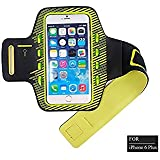 IPhone 6/6S Plus Armband With LED Lights - Pugo Top Water Resistant Sports Running & Exercise Gym Sportband With...
