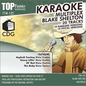 BLAKE SHELTON - Blake Shelton Top Tunes M Series Karaoke Multiplex CDG TTM-122 - Zortam Music