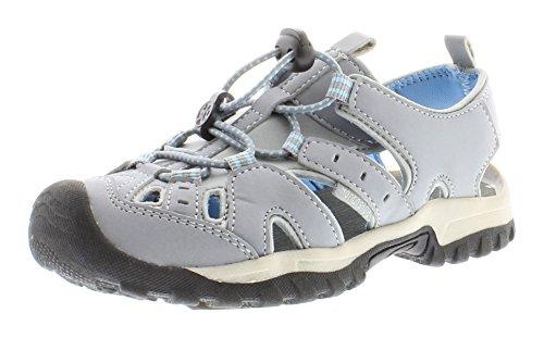 NorthsideWomen's Burke II Sandal, Light Gray/Light Blue, 9 M US