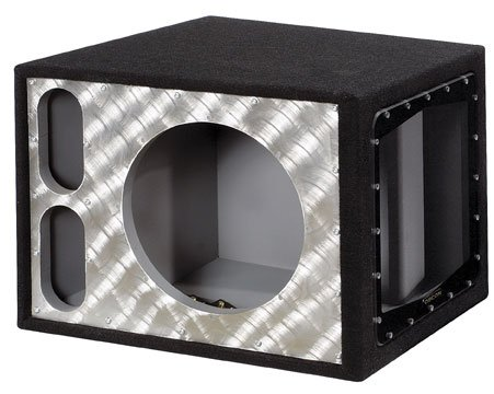 """Obcon Single 12"""" Slot Vented Pro Built Freak Series For Jl Audio W7 Subs Only"""