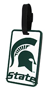 Buy Michigan State Spartans - NCAA Soft Luggage Bag Tag by aminco
