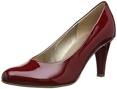 Gabor Schuhe Damen Pumps Lack Weite F 95-210, Schuhgröße:41;Farbe:Rot