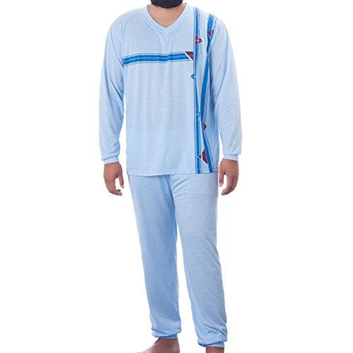 lucky-pyjama-pour-homme-a-col-v-et-rayures-jambes-longues-avec-poignets
