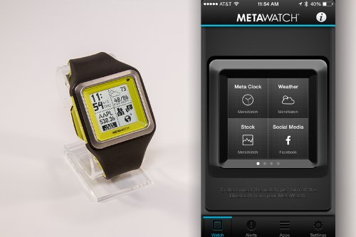 really don't metawatch strata smartwatch for iphone and android now