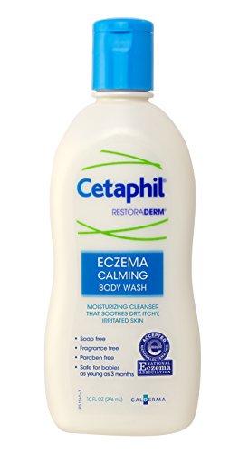 Cetaphil Restoraderm, Eczema Calming Body Wash, 10 Ounce
