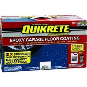 Quikrete Epoxy Garage Floor Coating