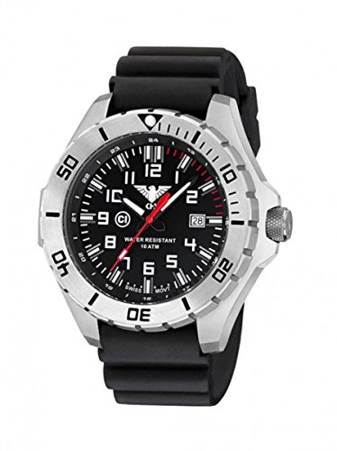 KHS Tactical orologio uomo Landleader Steel KHS.LANS.DB