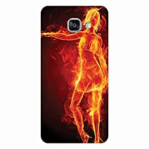 GripIt Girl On Fire Case for Samsung Galaxy A5 (2016)