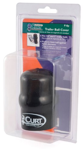 "Cheapest Price! Curt Manufacturing 21801 Black Ball Cover Fits 1 7/8"" and 2"" Ball Packaged"