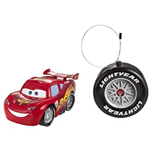 Cars 2 R/C Bubby Rides Lightning McQueen Vehicle