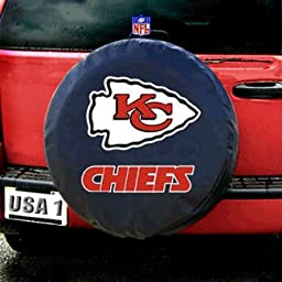 Kansas City Chiefs Tire Cover