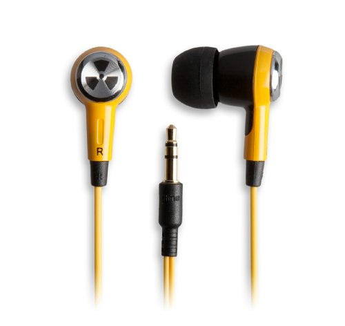 Earpollution Ozone Earbuds - Yellow/Black (Ep-Ozone-Yb-08)