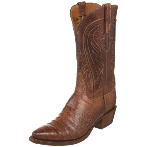Lucchese Classics Men's L1329.54 Western Boot,Barnwood/Tan,8 D US