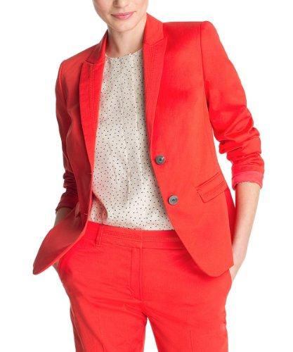 ESPRIT Collection Damen Blazer Q23035, Gr. 34 (XS), Rot ...