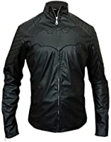 Star Cosplay Batman Begins Christian Bale Leather Jacket