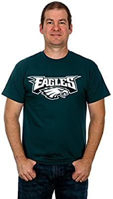 Philadelphia Eagles Men's Short Sleeve Cotton T-Shirt