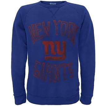 New York Giants - Logo Crew Neck Sweatshirt by Old Glory