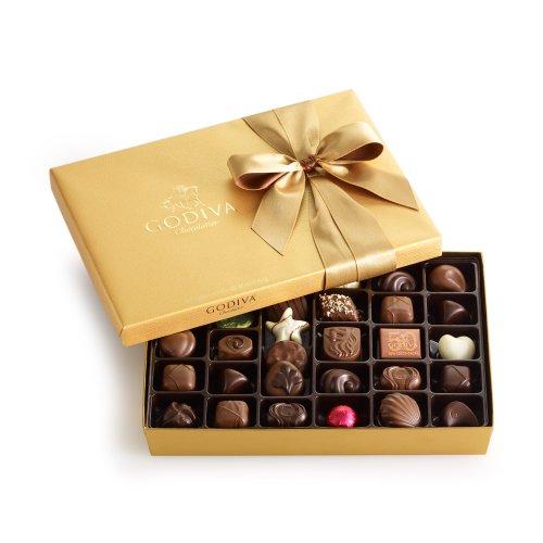 GODIVA Chocolatier Gold Ballotin Classic Gold