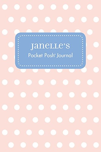 Janelle's Pocket Posh Journal, Polka Dot