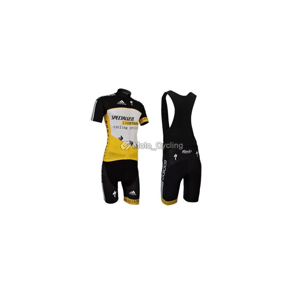 2011 new livstrong team cycling jersey+bib shorts bike on PopScreen 513c2596f