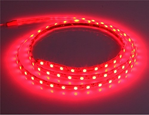14.4 W 90 Cm Water-Resistance Led Light Strip With Jacket (Red)