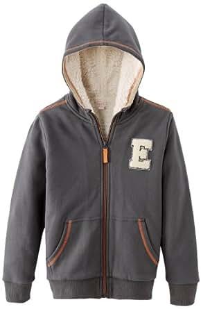 Esprit - sweat-shirt  capuche - garon - Gris (Gris Graphite) - FR : 7 ans (Taille Fabricant : 116/122)
