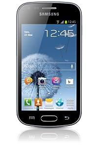 Samsung Galaxy Trend GT-S7560 Smartphone Ecran tactile 4'' (10,2 cm) Android 4.0.4 Ice Cream Sandwich Bluetooth Wi-Fi Noir