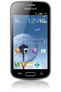 Samsung Galaxy Trend GT-S7560 Smartphone Ecran tactile 4'' (10,2 cm) Android 4.0.4 Ice Cream Sandwich Bluetooth Wi-Fi Noir