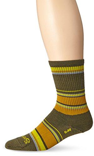 Sockguy Men'S Forest Socks, Olive, Small/Medium